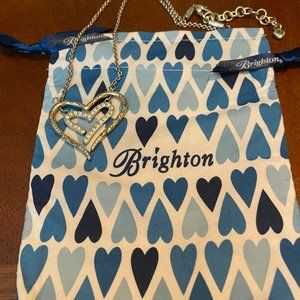 BRIGHTON Double Heart Reversible Necklace